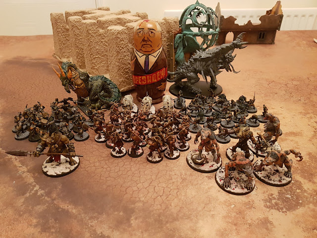 Warhammer 40k battle report - Maelstrom of War - Kill Confirmed - 1500 points - Thousand Sons vs Tyranids, Hive Fleet Kronos.