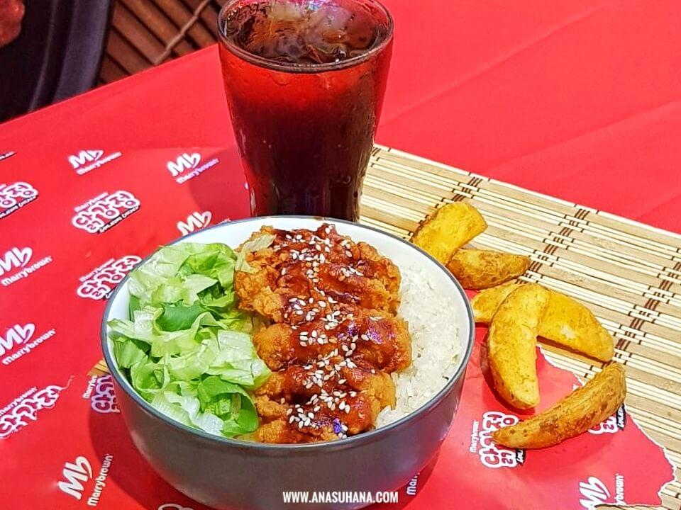 Ayam Gangjeong Manis Pedas Sentuhan Korea dari Marrybrown