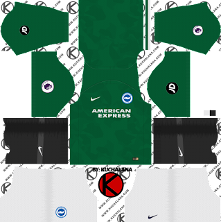 Brighton & Hove Albion FC 2018/19 Kit - Dream League Soccer Kits