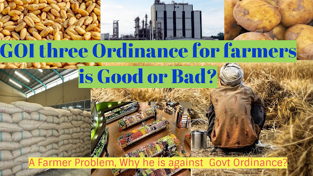 Govt three ordinance and farmer