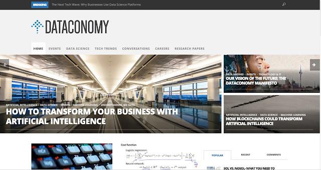 Dataconomy webpage