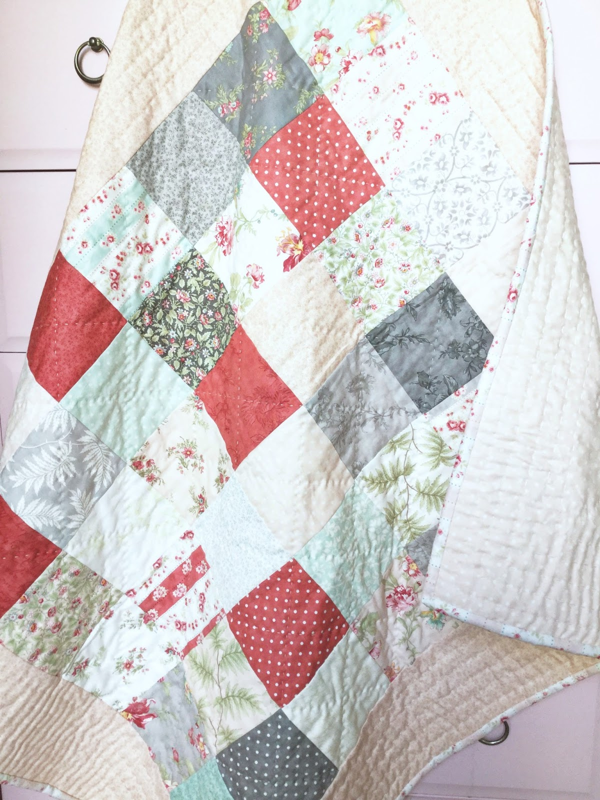 A Little Happy Place: Easy Peasy Charm Square Quilt (Part 1) : charm square quilt pattern - Adamdwight.com