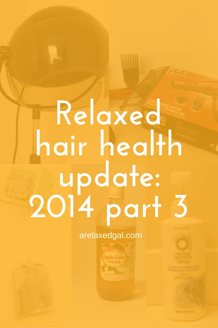 Relaxed Hair Health Update: Healthy hair journey year one hits and misses | arelaxedgal.com