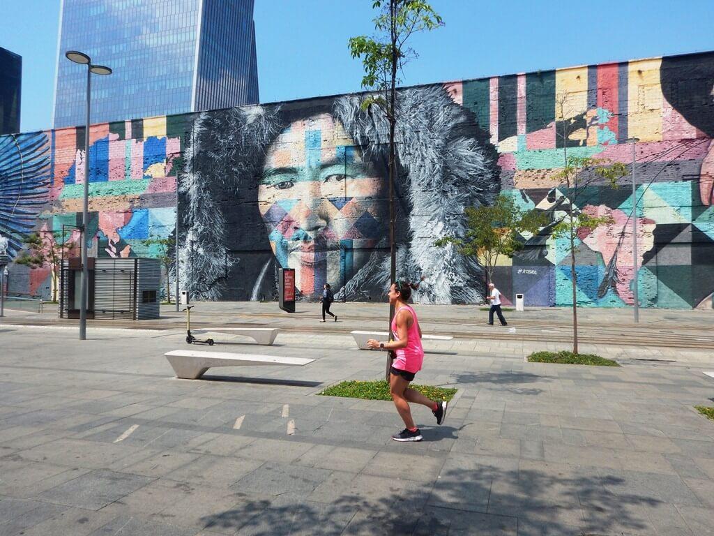 Corrida no Boulevard Olímpico