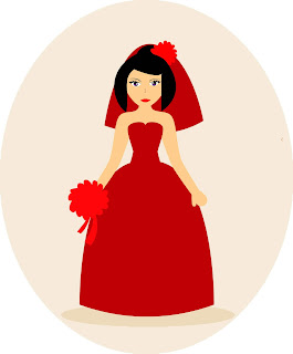 vector pengantin wanita cdr ai