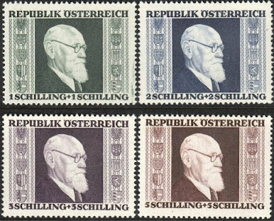 December 14th in stamps Quantum mechanics, Kitty Hawk, South Pole Expedition, Karl Rennen, George VI, Paul of Greece