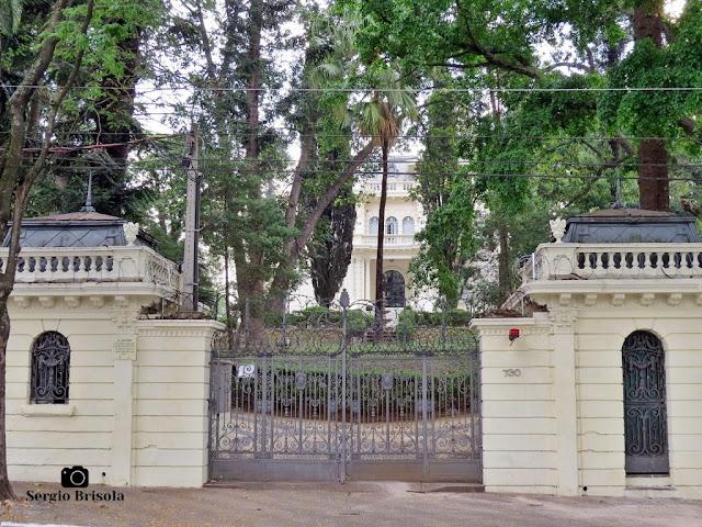 Palacete Violeta (Entrada externa)