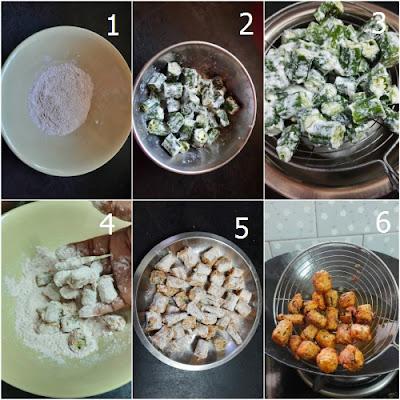 कुरकुरे भिंडी बाइट्स (crispy bhindi bites)