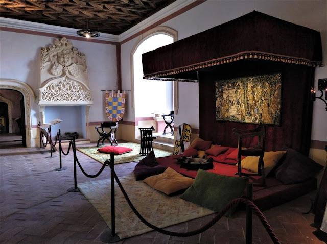 Castillo de Belmonte, camarín de la Reina Juana I
