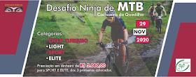 DESAFIO NINJA DE MTB CACHOEIRA DA QUINTILHA - 2020 (INFO)