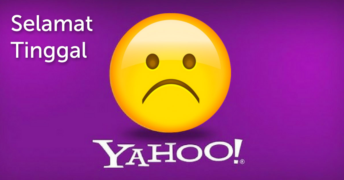 Selamat Tinggal Yahoo Messenger