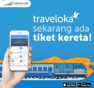 TIket Kereta Online Traveloka