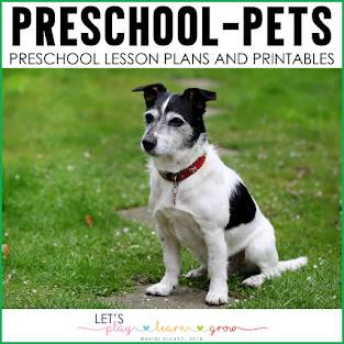 Preschool Pets