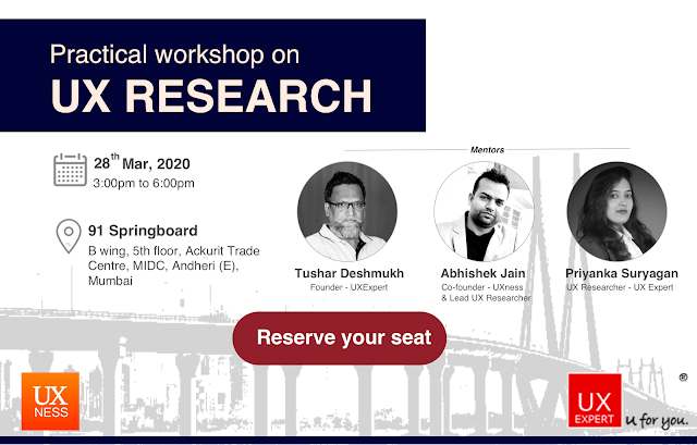 Free UX Research workshop