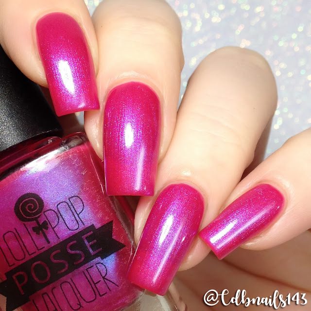 Lollipop Posse Lacquer-I Am a Watercolor