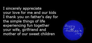 fathers day quotes for husband 2017