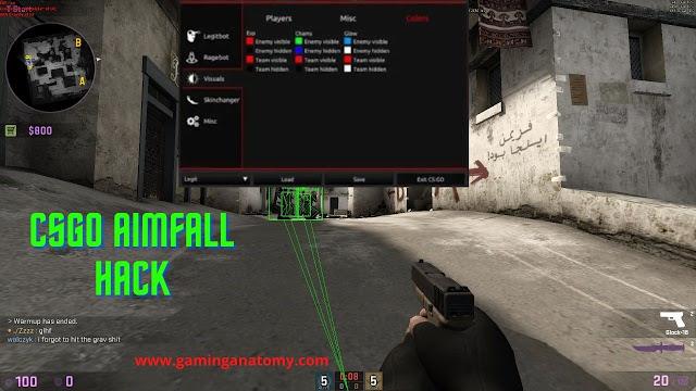 CSGO Aimfall hack