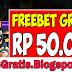FREEBET GRATIS - Tanpa Deposit 50.000 StarXO88