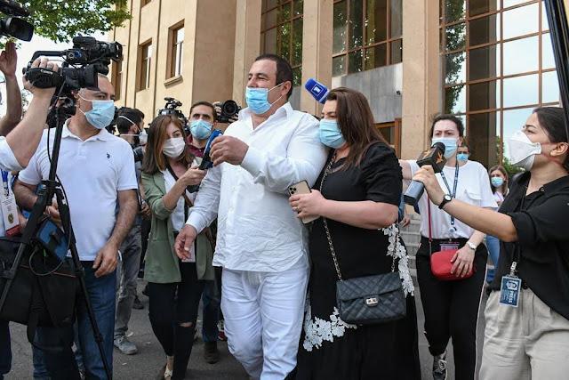 Tribunal de Ereván se negó a arrestar a Gagik Tsarukyan
