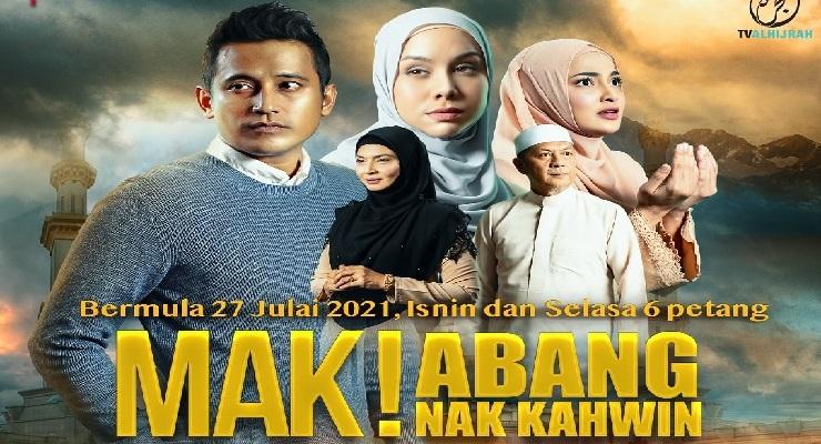 Drama Mak Abang Nak Kahwin Lakonan Shah Iskandar, Tania Hudson 1