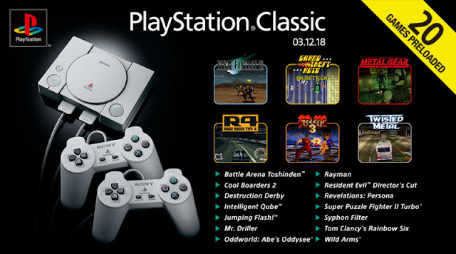 Sony PlayStation Classic Complete Game List