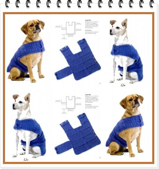 Plantillas y Patrones de Ropa para Mascotas. Perros/Gatos