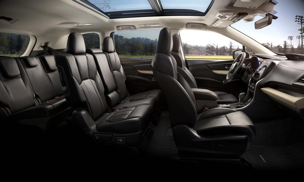 Subaru Ascent thế hệ mới ra mắt - nâng cấp công nghệ, tăng giá bán