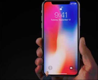 حدث آبل: الكشف عن iPhone X