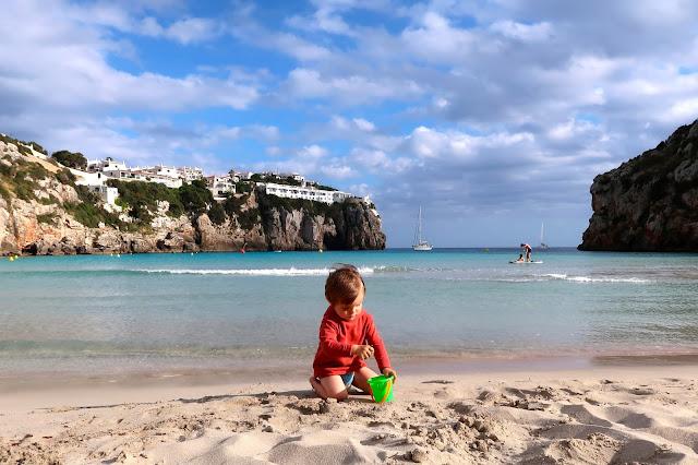 cala en porter Menorca a golpe de objetivo