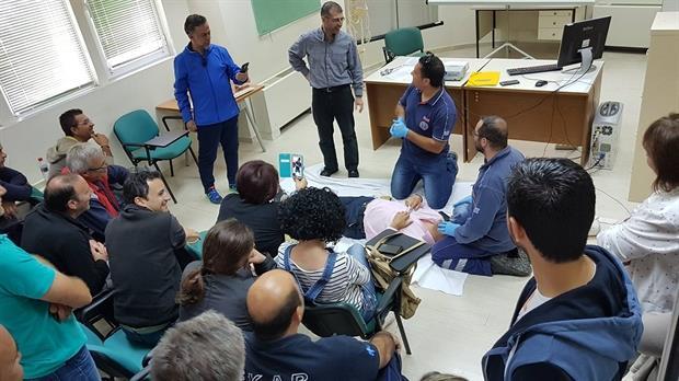 Το ΕΚΑΒ εκπαιδεύεται προς όφελος πάντα του ασθενή