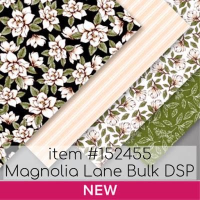 Stampin Up!'s Magnolia Lane Bulk DSP item #152455