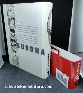 buddha volume 1 by osamu tezuka rear cover without dusk jacket
