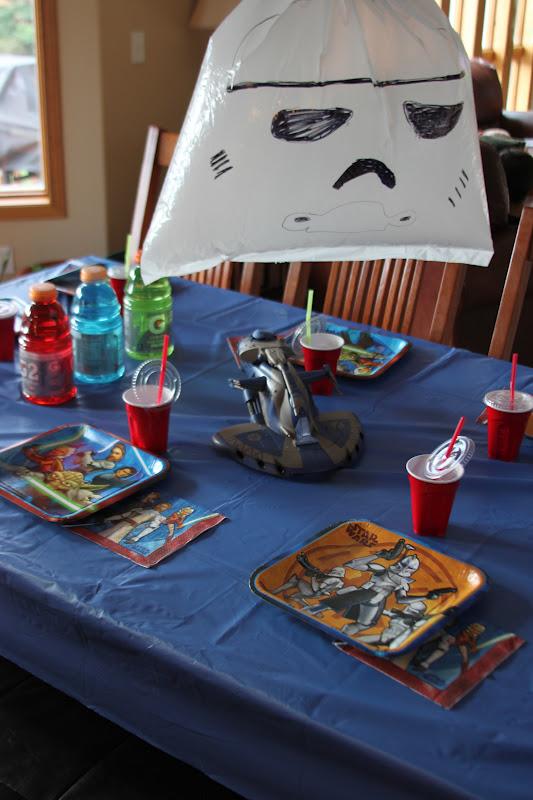Kara S Creative Place Star Wars Birthday Party
