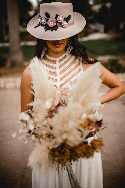 images by mneme photography zolotas australia bridal gowns wedding boho natural pampas grass decor