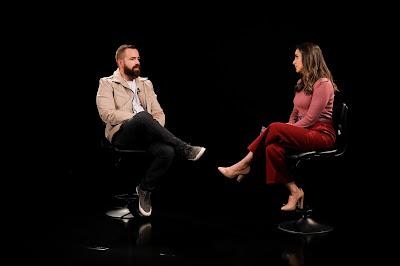 Livia Raick entrevista Leniel Borel - (Foto: Beatriz Nadler/SBT)