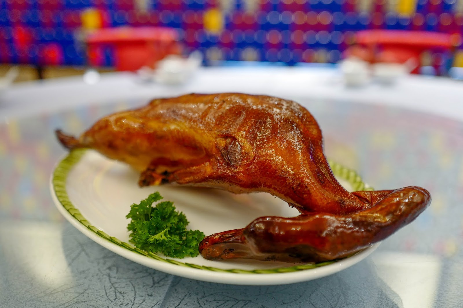 zuan yuan, one world hotel: traditional roast goose