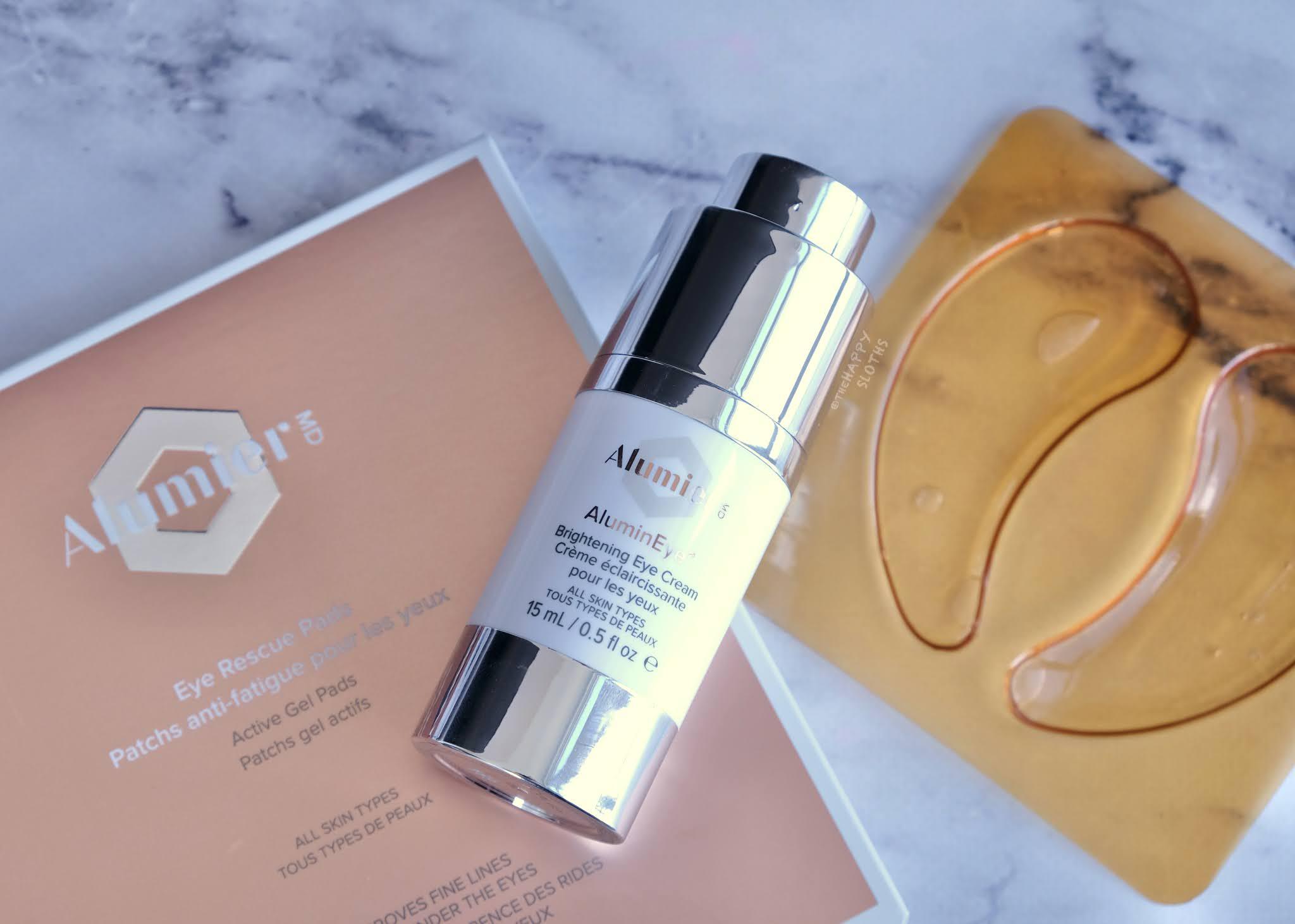 Alumier MD | Eye Rescue Pads & AluminEye Brightening Eye Cream: Review