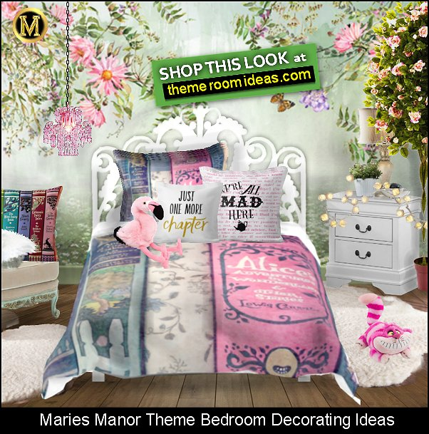 vintage book bedding