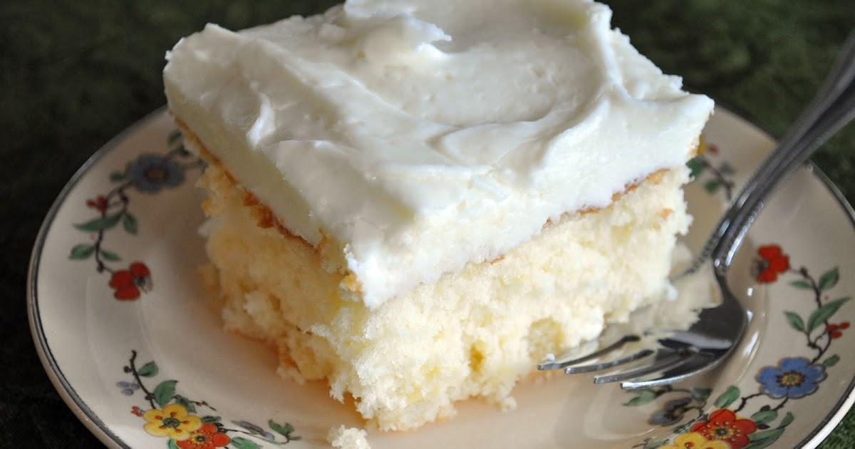 Our Sweet Lemons Crushed Pineapple Cake