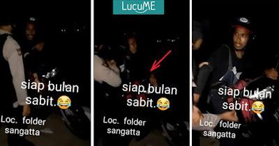 Pria Ini Ngaku 'Polisi Bulan Sabit' Saat Digeledah Polisi, Kocak Bet Dah!