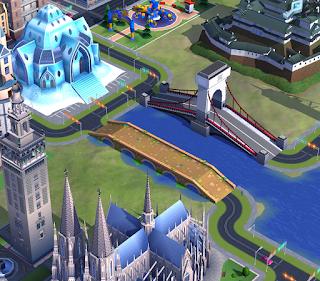 puente adoquinado simcity buildit