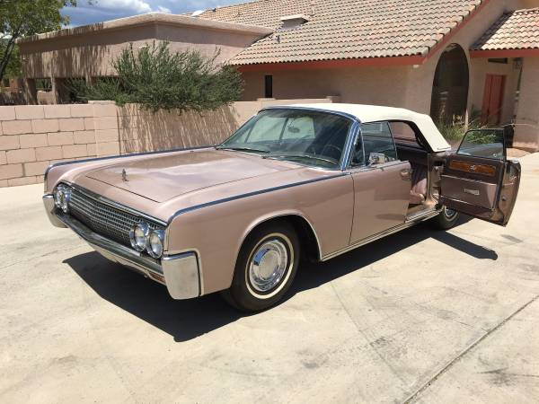 1963 Lincoln Continental Convertible | Auto Restorationice