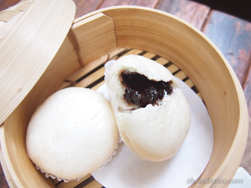 Nutella Bao from Three Little Birds Coffee