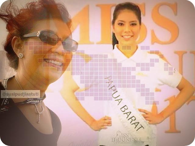 Menteri Susi Pudjiastuti Jadi Inspirasi Miss Indonesia dari Papua Barat