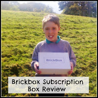 Boy with Brickbox Package, title overlaid