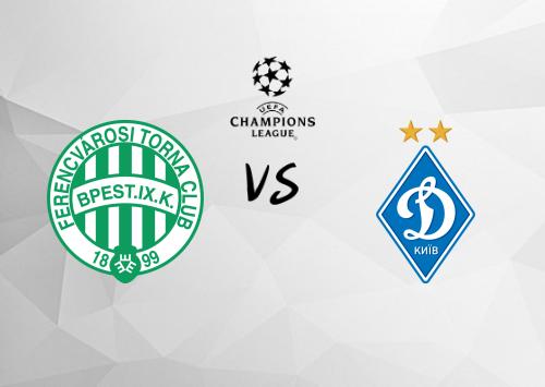 Ferencváros vs Dinamo Kiev  Resumen
