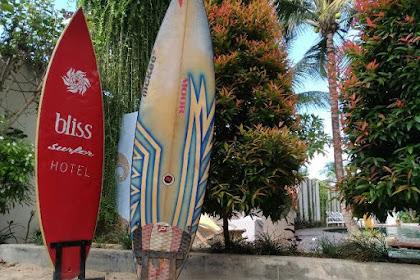 Bliss Surfer Hotel Kuta Bali Area Surfing untuk yang Belum Bisa Berenang