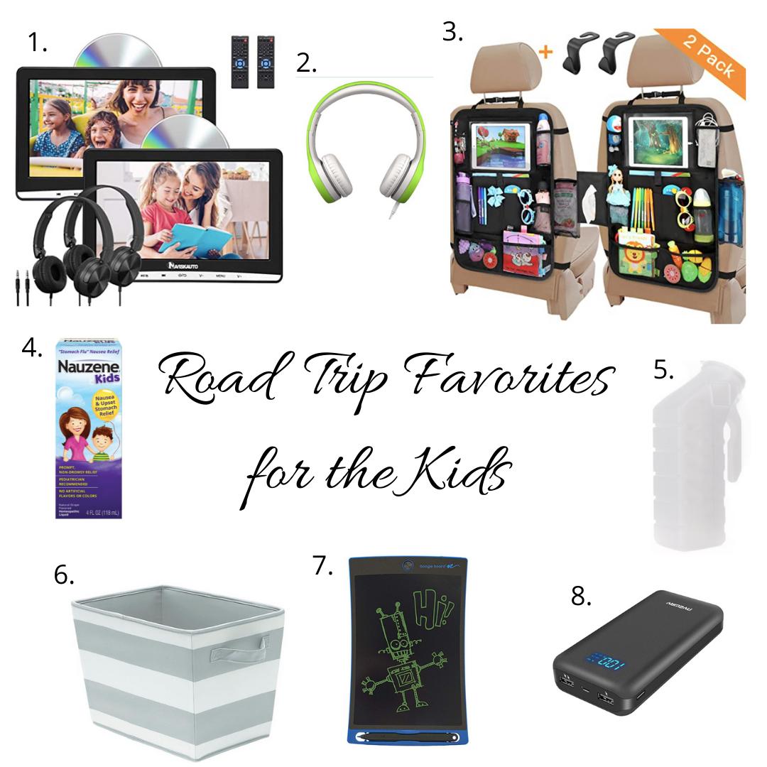 Road Trip Favorites for Kids