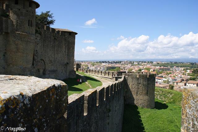 Porzione di Mura della cittadella fortificata