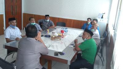 Bersama Teguhkan NKRI, Kapolres dan PCNU Pohuwato Bahas Sejumlah Program
